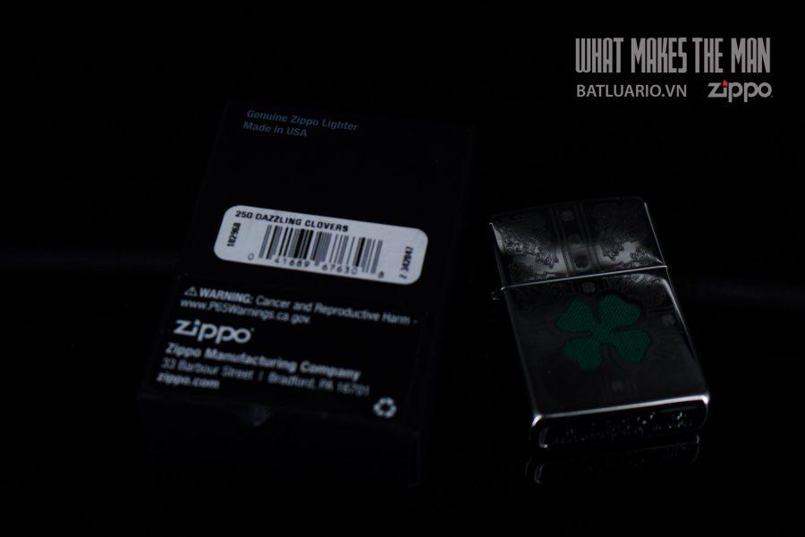 ZIPPO 250 DAZZLING CLOVER 1