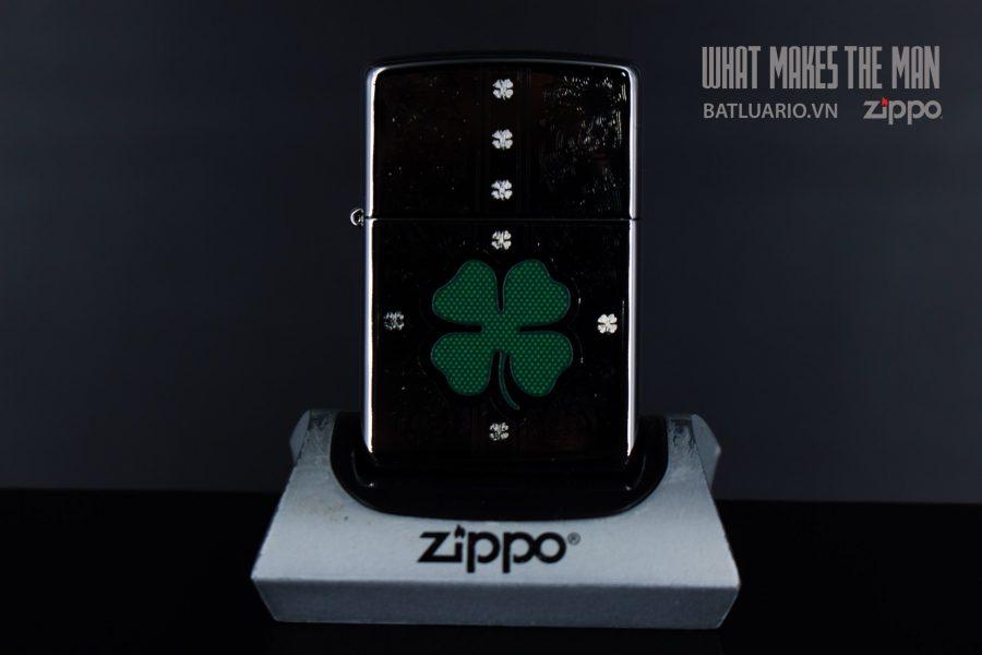 ZIPPO 250 DAZZLING CLOVER 2
