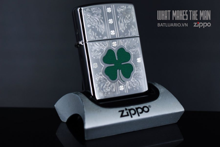 ZIPPO 250 DAZZLING CLOVER