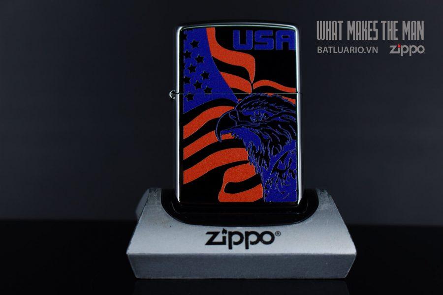 ZIPPO 250 EAGLE FLAG USA 1