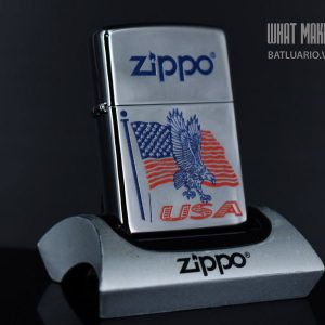 ZIPPO 250 FLAG EAGLE USA ZIPPO
