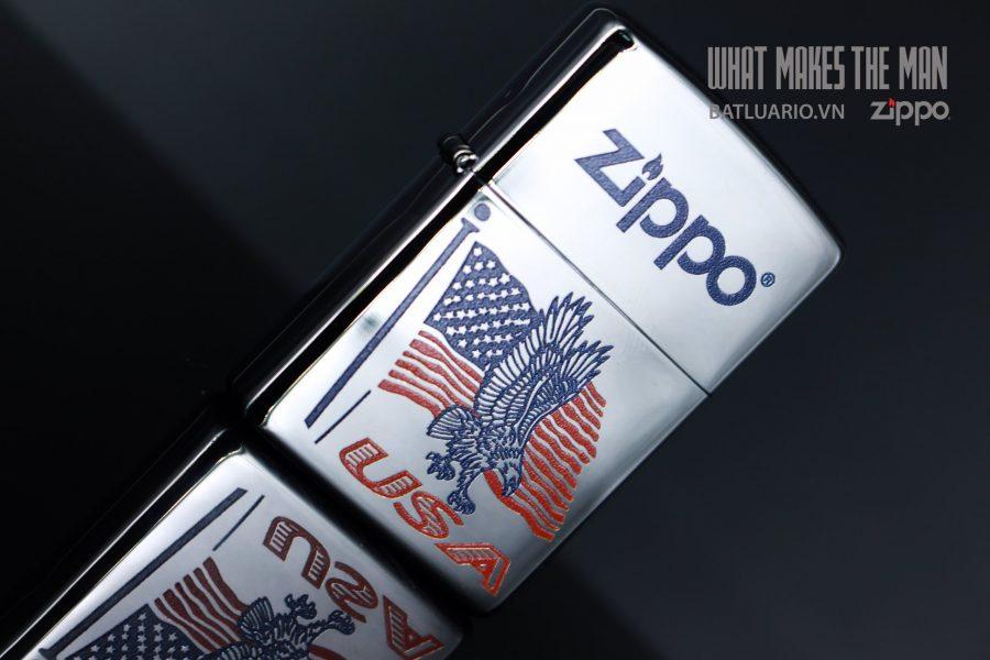 ZIPPO 250 FLAG EAGLE USA ZIPPO 4