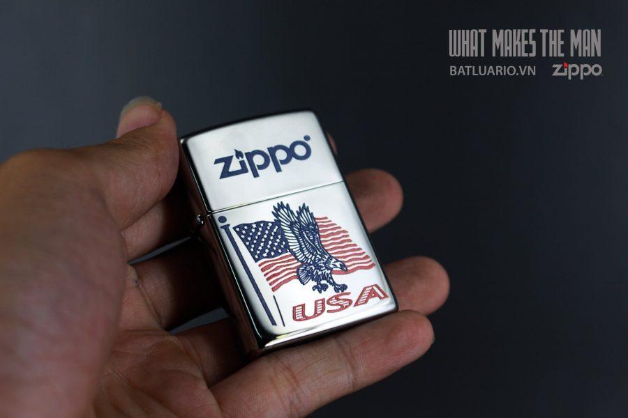 ZIPPO 250 FLAG EAGLE USA ZIPPO 5