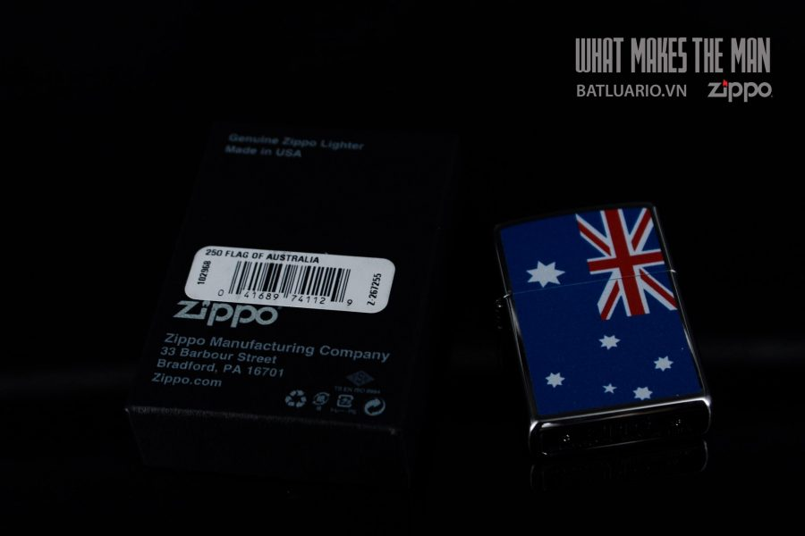 ZIPPO 250 FLAG OF AUSTRALIA 1