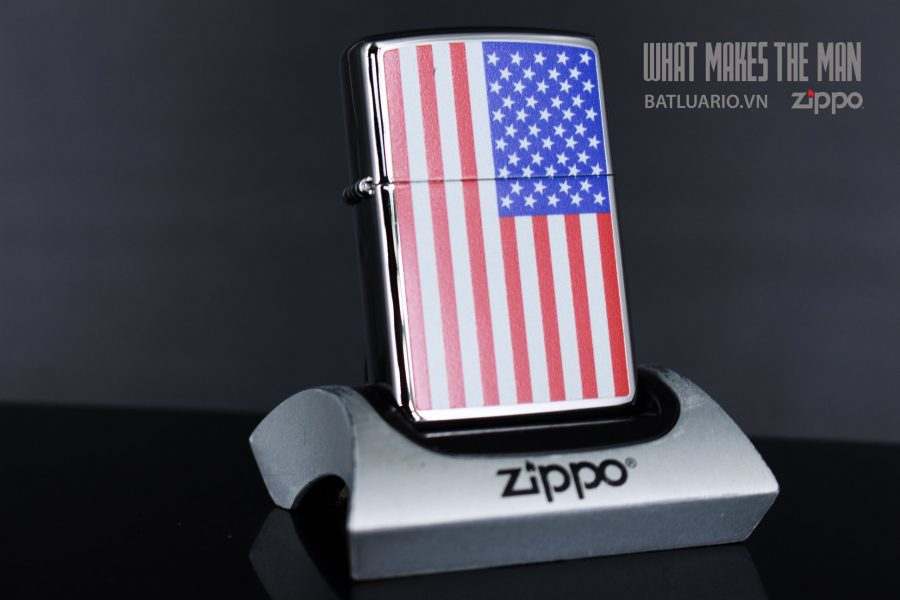 ZIPPO 250 FLAG OF THE UNITED STATES