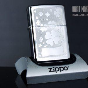ZIPPO 250 FOUR LEAF CLOVER 1