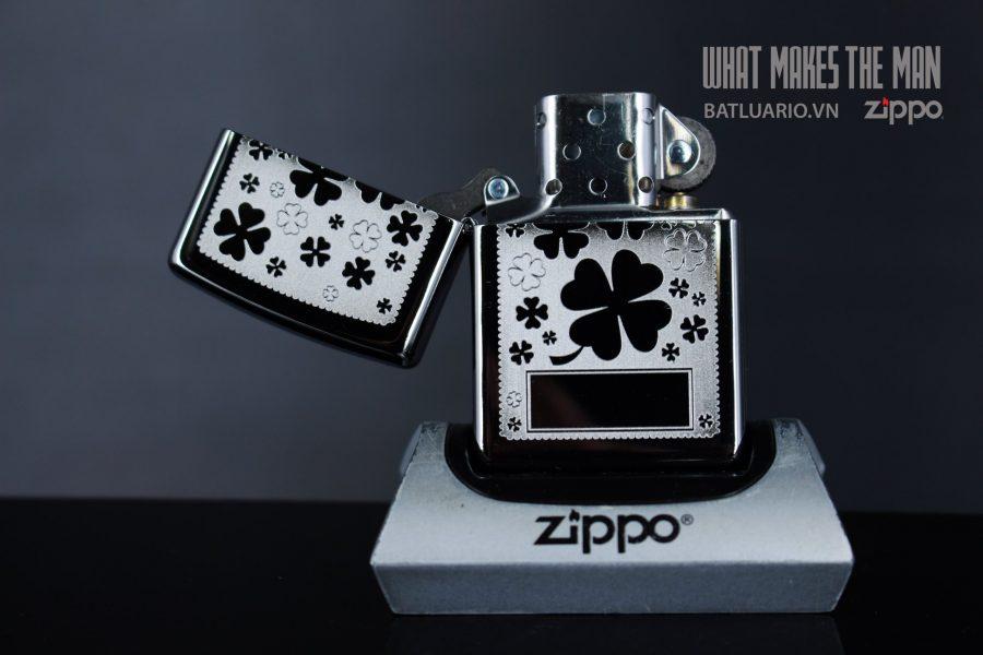 ZIPPO 250 FOUR LEAF CLOVER 2