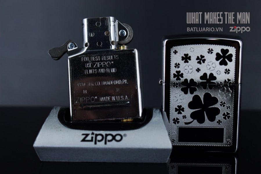 ZIPPO 250 FOUR LEAF CLOVER 5