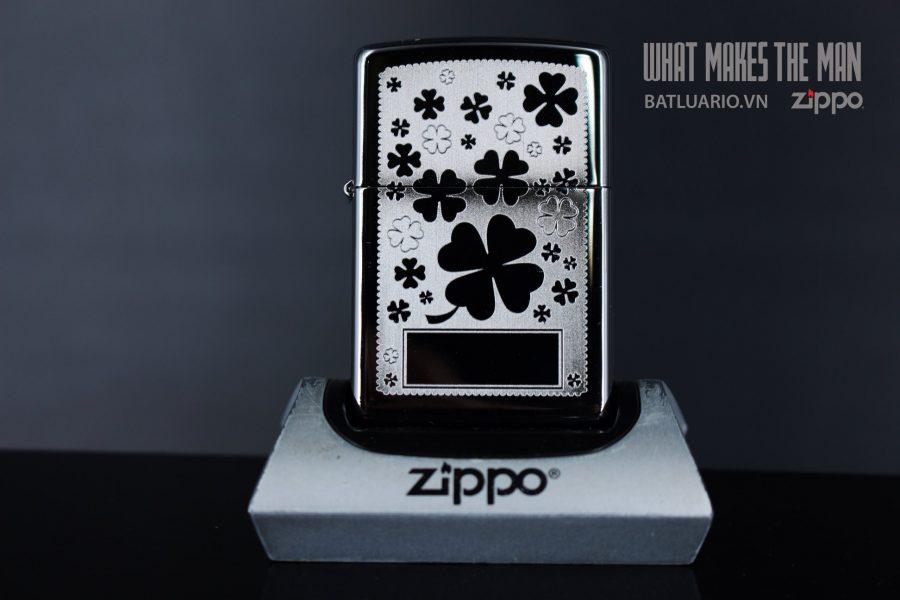 ZIPPO 250 FOUR LEAF CLOVER