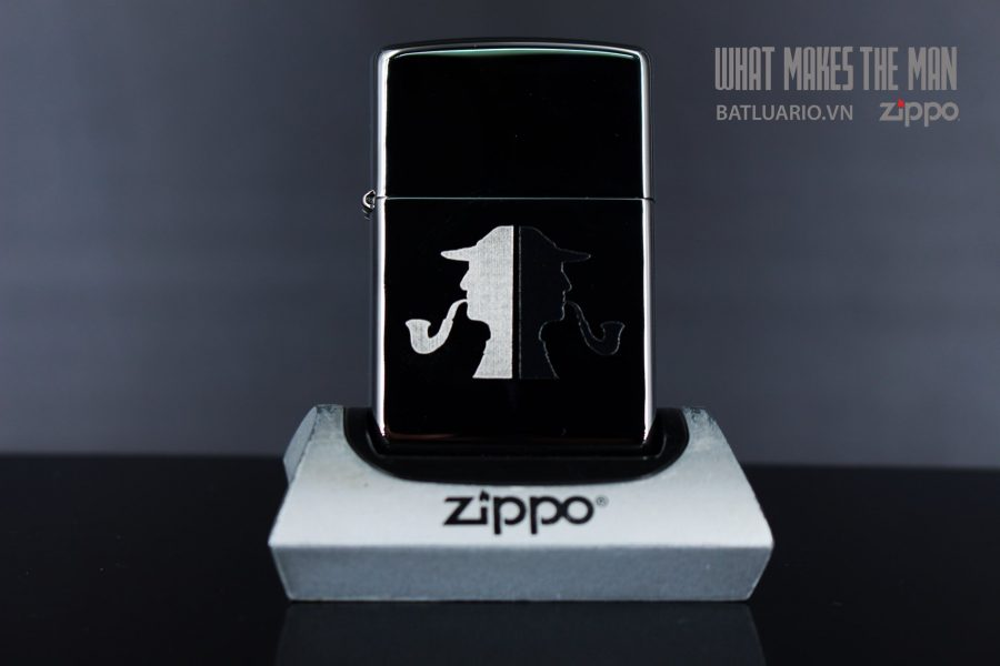 ZIPPO 250 SHERLOCK HOLMES PIPEMAN 2