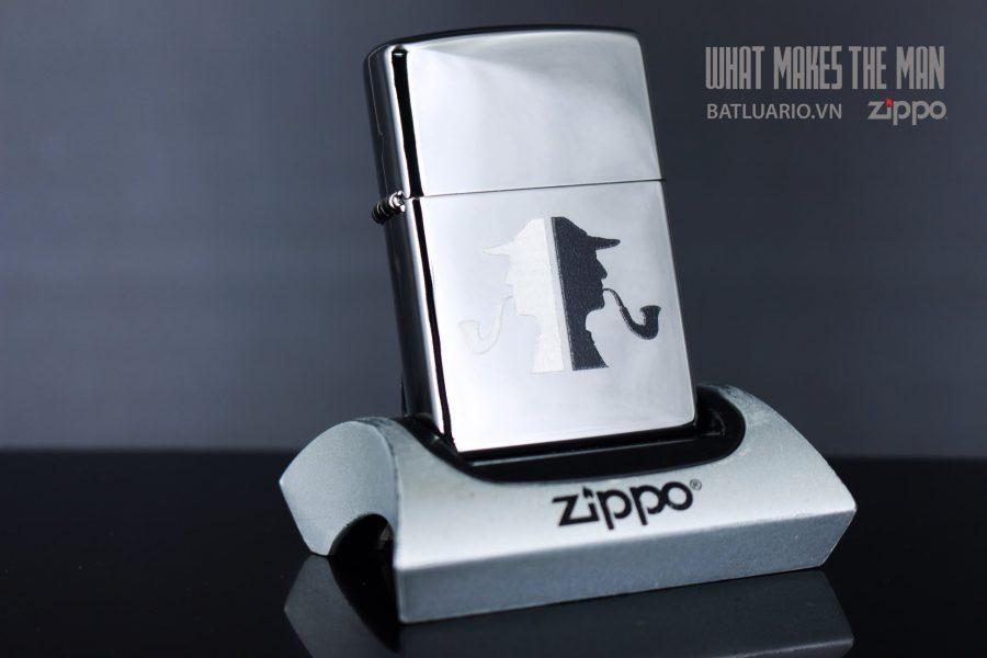 ZIPPO 250 SHERLOCK HOLMES PIPEMAN