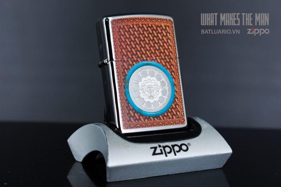 ZIPPO 250 STEER LEATHER