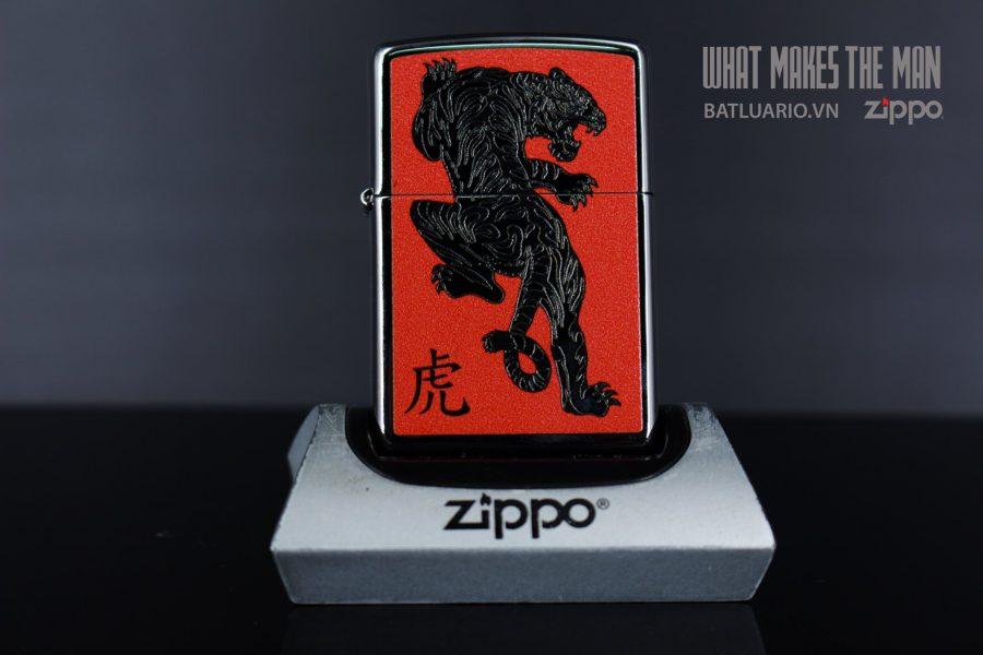 ZIPPO 250 TIGER RED 2