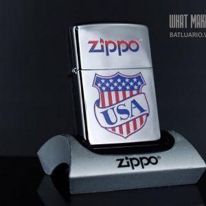 ZIPPO 250 USA SHIELD