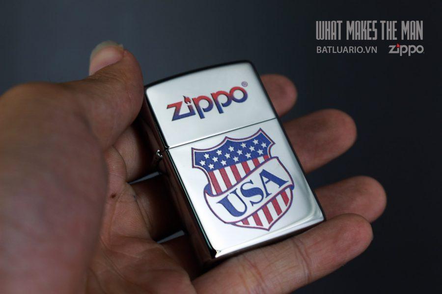 ZIPPO 250 USA SHIELD 5