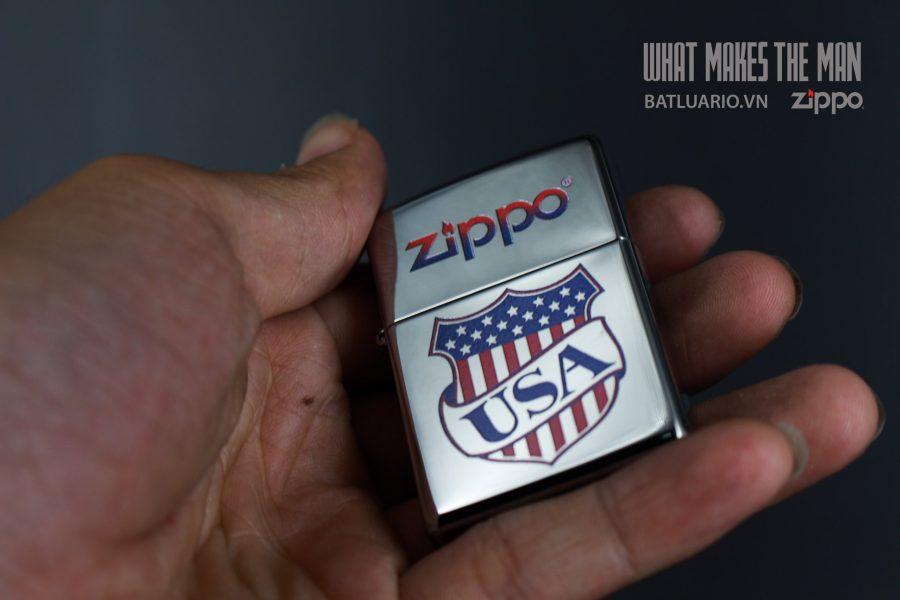 ZIPPO 250 USA SHIELD 6