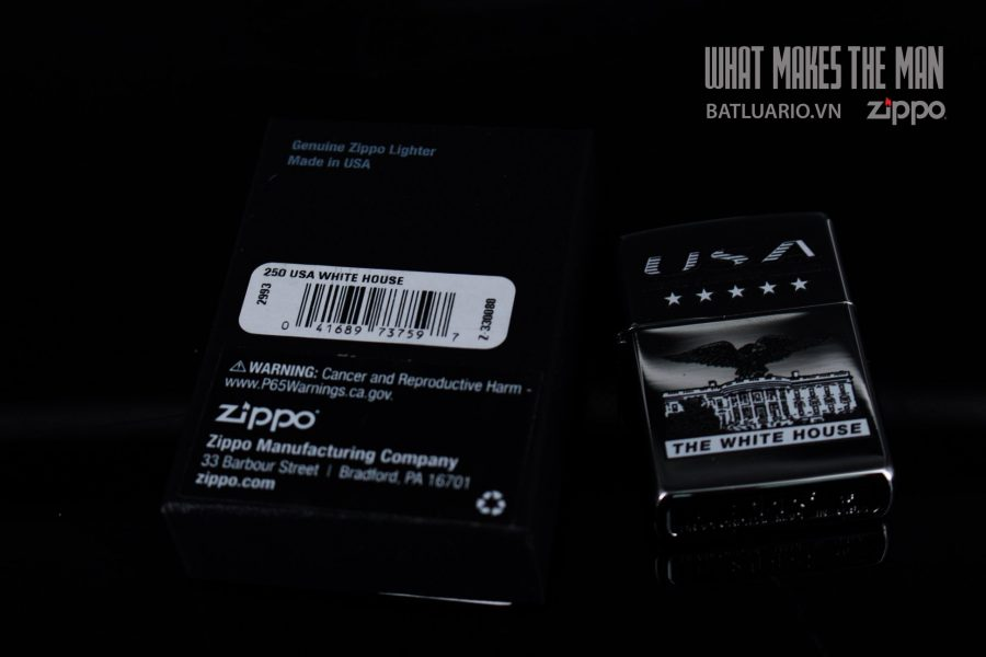 ZIPPO 250 USA WHITE HOUSE 1