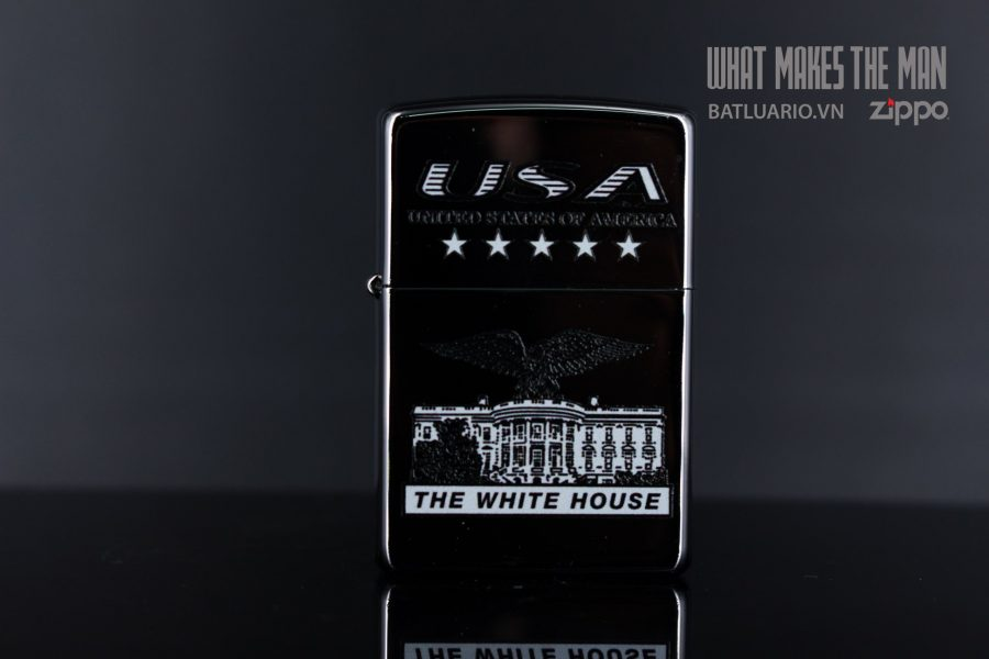 ZIPPO 250 USA WHITE HOUSE 5