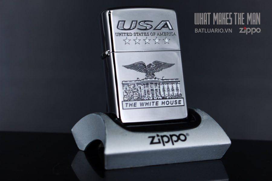 ZIPPO 250 USA WHITE HOUSE
