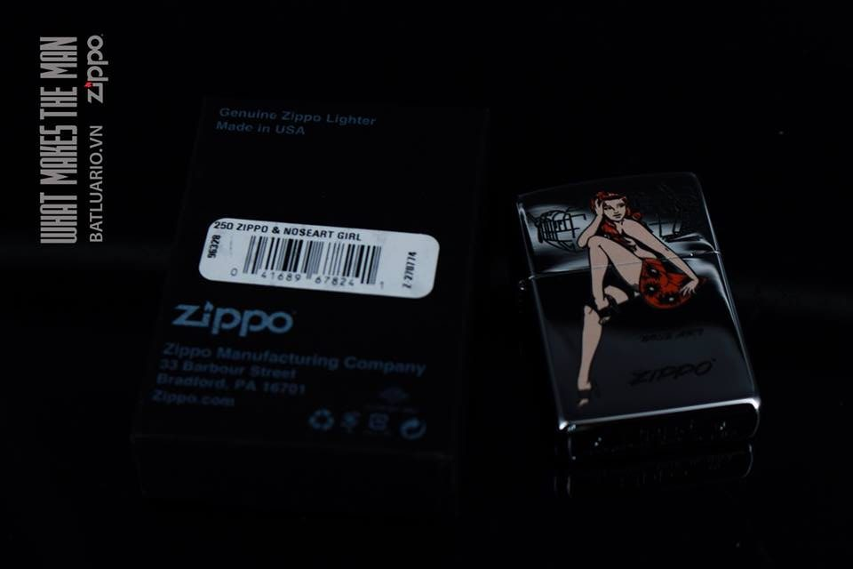 ZIPPO 250 ZIPPO & NOSEART GIRL 1