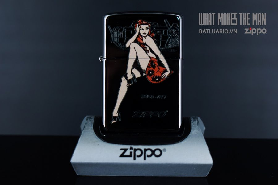 ZIPPO 250 ZIPPO & NOSEART GIRL 2