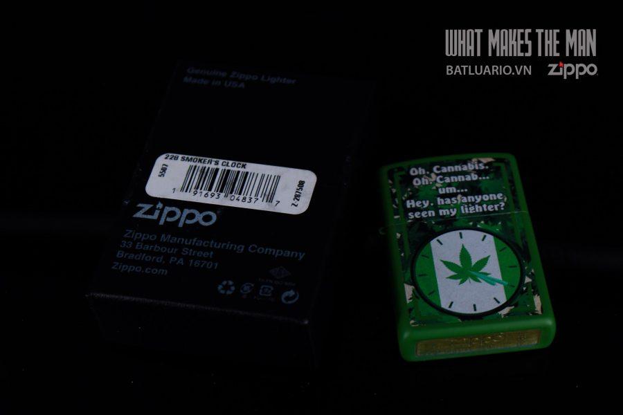 ZIPPO ZIPPO 228 SMOKER'S CLOCK 1