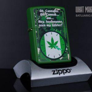 ZIPPO ZIPPO 228 SMOKER'S CLOCK