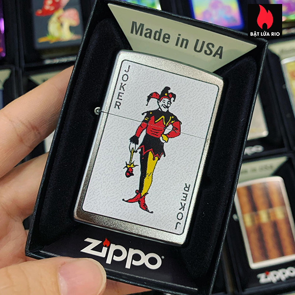 Zippo 205 Las Vegas Joker