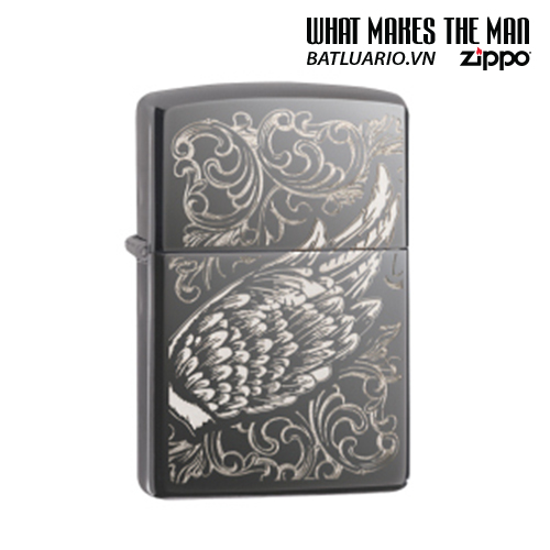 Zippo 29881 - Zippo A Gift of Wings Black Ice
