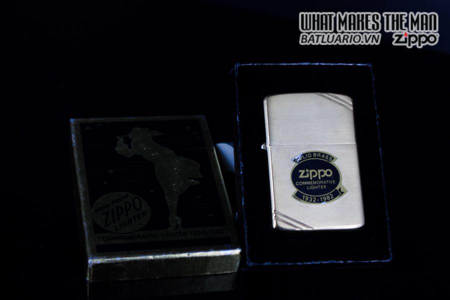 ZIPPO 1932 – 1982 – COMMEMORATIVE – 50TH ANNIVERSARY 1