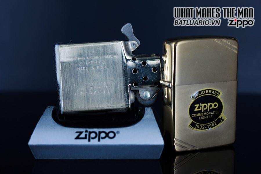 ZIPPO 1932 – 1982 – COMMEMORATIVE – 50TH ANNIVERSARY 2