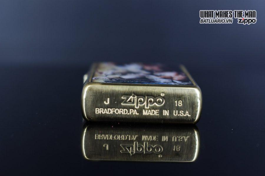 Zippo 29781 – Zippo Mazzi Pirate Ship Brush Brass 6