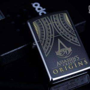 Zippo 29785 – Zippo Assassins Creed Origins Satin Chrome 1