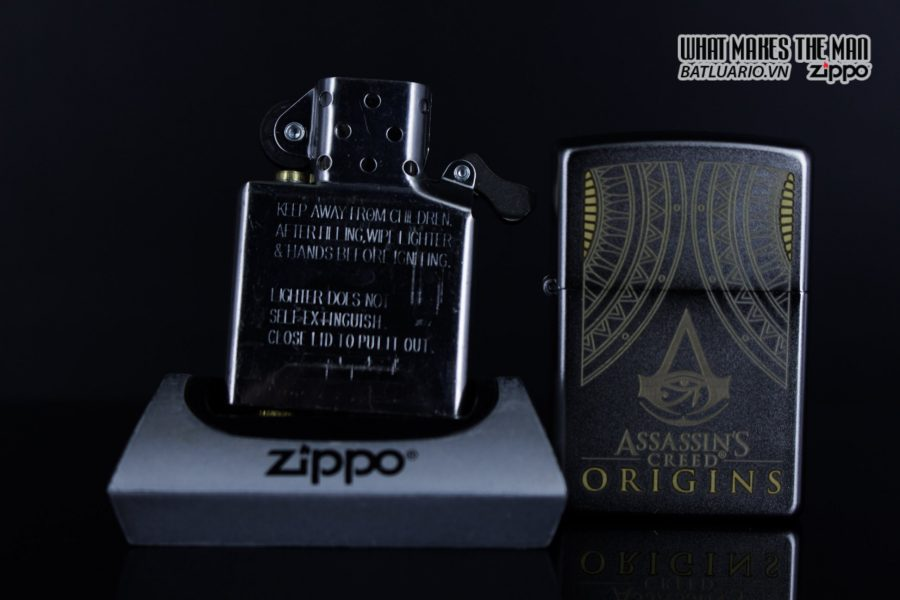 Zippo 29785 – Zippo Assassins Creed Origins Satin Chrome 10