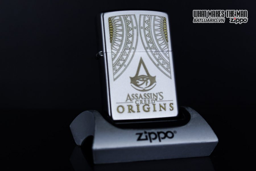 Zippo 29785 – Zippo Assassins Creed Origins Satin Chrome 6