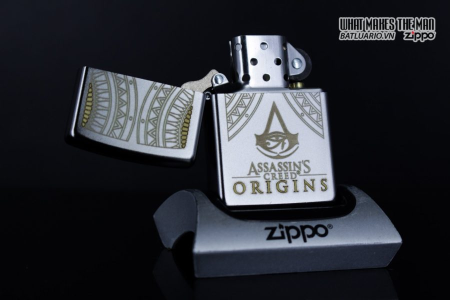 Zippo 29785 – Zippo Assassins Creed Origins Satin Chrome 7