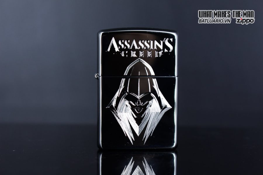Zippo 29786 - Zippo Assassins Creed Ezio High Polish Chrome 1