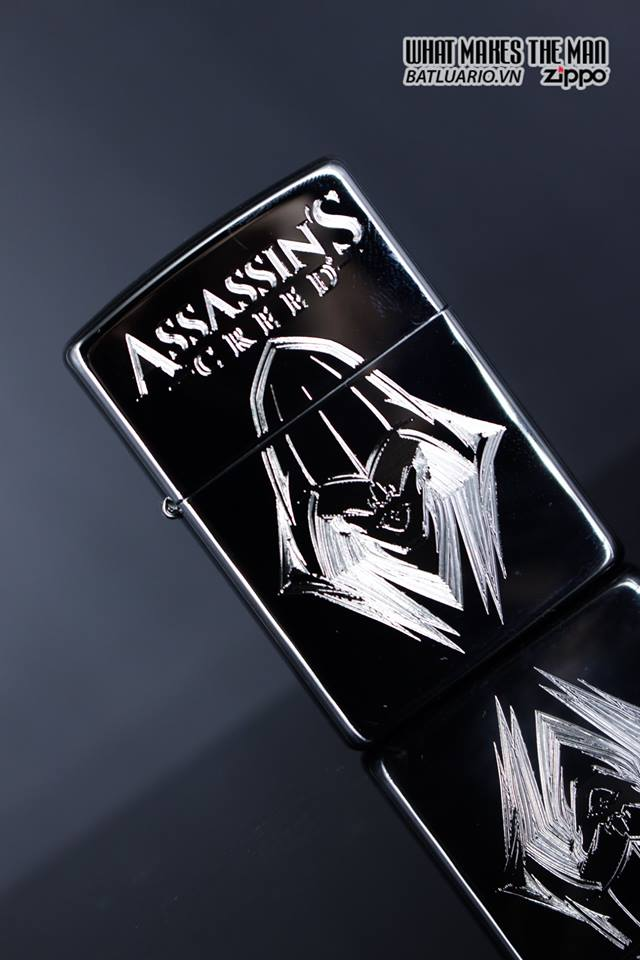Zippo 29786 - Zippo Assassins Creed Ezio High Polish Chrome 4