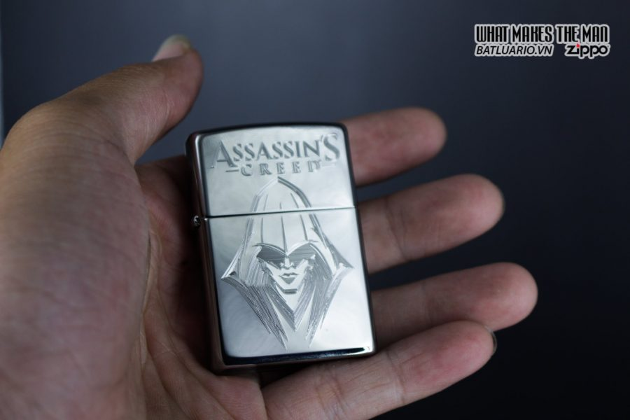 Zippo 29786 - Zippo Assassins Creed Ezio High Polish Chrome 7