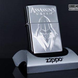 Zippo 29786 - Zippo Assassins Creed Ezio High Polish Chrome 9