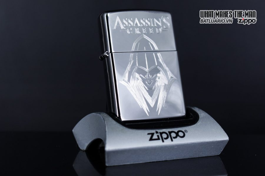 Zippo 29786 - Zippo Assassins Creed Ezio High Polish Chrome 9