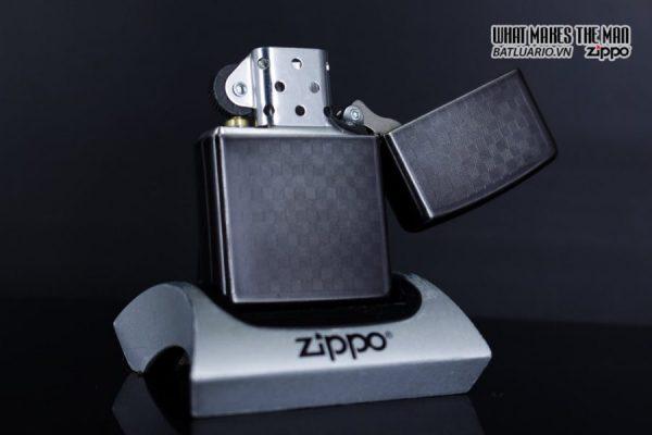 Zippo 29823 - Zippo Iced Carbon Fibre Design Grey Ice 3