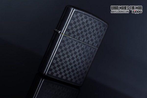 Zippo 29823 - Zippo Iced Carbon Fibre Design Grey Ice 5