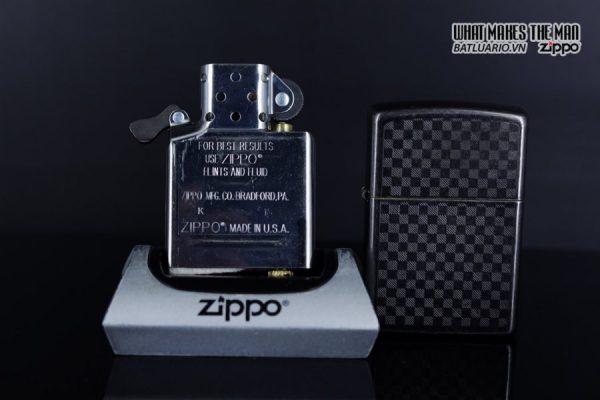Zippo 29823 - Zippo Iced Carbon Fibre Design Grey Ice 6