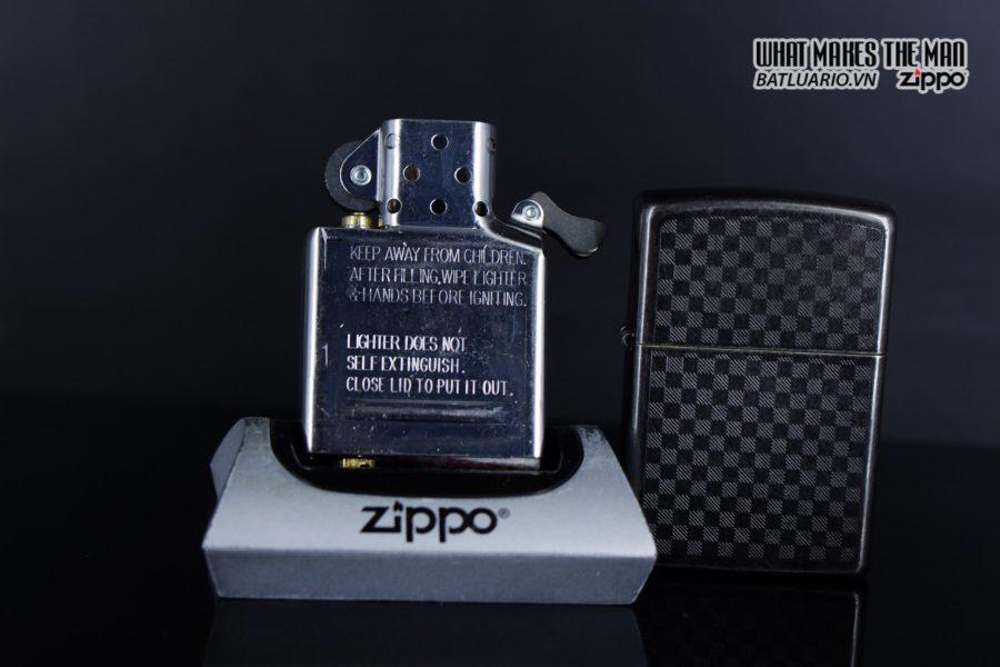 Zippo 29823 - Zippo Iced Carbon Fibre Design Grey Ice 7