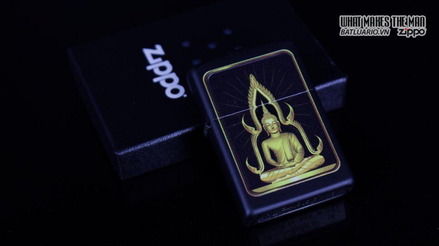Zippo 29836 – Zippo Buddah Black Matte 1