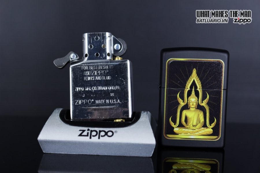 Zippo 29836 – Zippo Buddah Black Matte 13