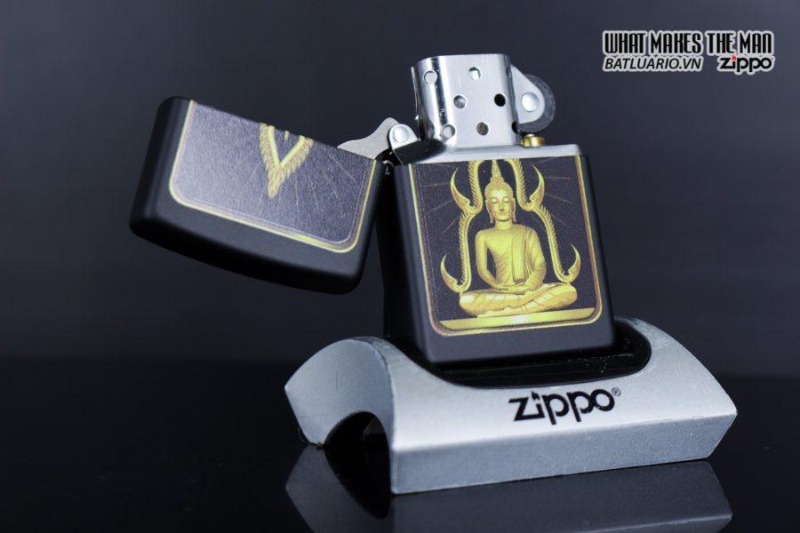 Zippo 29836 – Zippo Buddah Black Matte 7