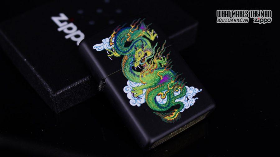 Zippo 29839 – Zippo Dragon Black Matte 10