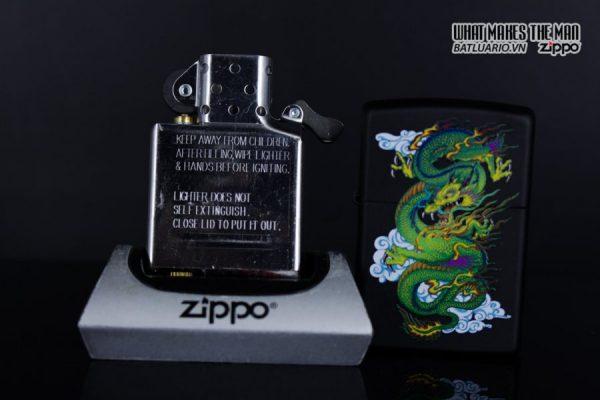 Zippo 29839 – Zippo Dragon Black Matte 7